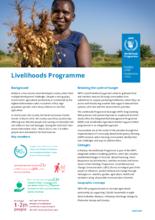 2021 – Livelihoods Programme Factsheet – WFP Malawi, May 2021