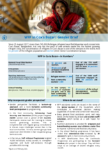 WFP in Cox's Bazar - Gender Brief