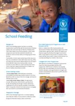 2021 – School Feeding Programme Factsheet – WFP Malawi, May 2021