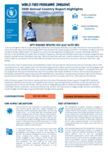 World Food Programme Zimbabwe  2020 Annual Country Report Highlights