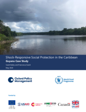 Study on shock-responsive social protection in the Caribbean