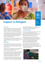 WFP Malawi - Support to Refugees Factsheet, May 2021