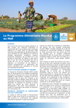 General activities -  WFP Mali (in French language)