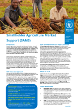 2021 – Smallholder Agricultural Market Support (SAMS) Factsheet – WFP Malawi, June 2021