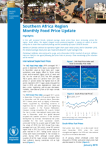 Southern Africa - Monthly Food Price Update, 2019