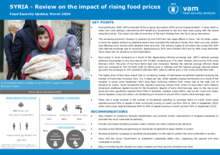 Syria Food Security Analysis - March 2020