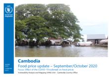Cambodia - Food Price Update - Sept-Oct 2020