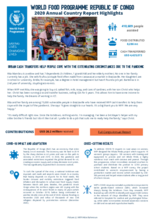 World Food Programme Republic of Congo  2020 Annual Country Report Highlights