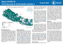 WFP Nepal - Food Security and Vulnerability Update no. 2 & 3