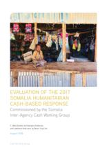 Somalia, Humanitarian Cash-Based Response (2017): Joint Evaluation