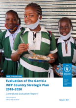 Evaluation of The Gambia WFP Country Strategic Plan 2019-2021