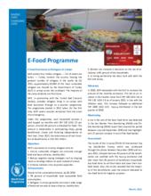 Q1 2021 – WFP Turkey E-Food Card Factsheet
