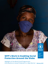 WFP's Work in Enabling Social Protection Around the Globe - 2021