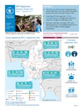 WFP Myanmar External Situation Report #4 (August – September 2021)