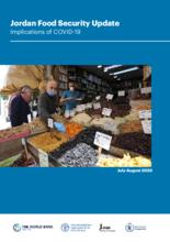 Jordan Food Security Update-Implications of COVID-19 July-Aug 2020