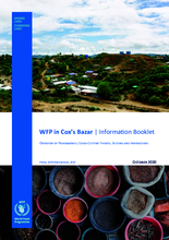 WFP Bangladesh – Cox's Bazar Information Booklet – October 2020