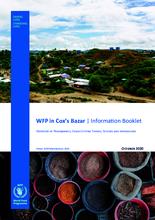 WFP Bangladesh – Cox's Bazar Information Booklet – October 2020