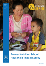 WFP Laos - Farmer Nutrition School Household Impact Survey