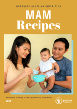 Moderate Acute Malnutrition (MAM) Recipe Book