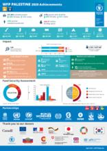 WFP Palestine: 2020 Achievements