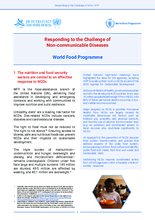 Responding to the challenge of non-communicable diseases (NCD)