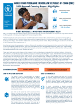 World Food Programme Democratic Republic of Congo  2020 Annual Country Report Highlights