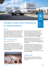 2021 Emergency Supply Chain Preparedness for Disaster Resilience, May 2021
