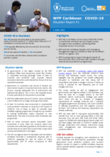 WFP Caribbean COVID-19 Situation Report