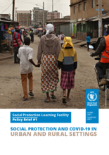 Social Protection and COVID-19 in Urban and Rural Settings - 2020