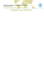 Democratic Republic of Congo, School Feeding in Emergencies: an evaluation