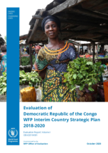 Evaluation of Democratic Republic of the Congo WFP Interim Country Strategic Plan 2018-2020