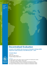 Ethiopia, Satellite Index Insurance for Pastoralists (2017-2019): Impact Evaluation