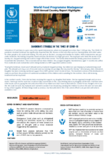 WFP Madagascar: 2020 Annual Country Report Highlights