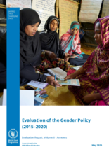 Evaluation of the Gender Policy (2015-2020)