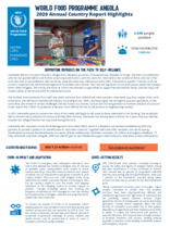 WFP Angola - 2020 Annual Country Report Highlights