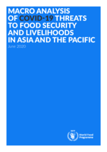 Macro Analysis of COVID-19 - Threats to Food Security and Livelihoods in Asia and the Pacific