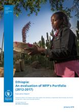 Ethiopia: An evaluation of WFP's Portfolio (2012-2017)