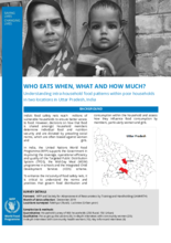 WFP India - Who eats When, What and How Much?