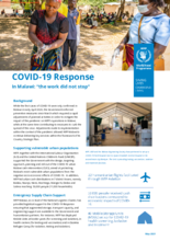 """2021 - COVID-19 Response In Malawi: """"The work did not stop"""", May 2021"""