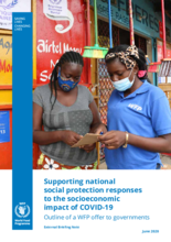 Supporting national social protection responses to the socioeconomic impact of COVID-19