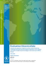 Burundi, Integrated School Canteen Programmes: Evaluation