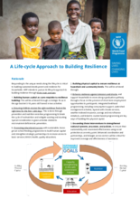 2021 – Life-cycle Approach to Building Resilience Factsheet – WFP Malawi, May 2021