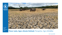 Timor-Leste, Agro-climate outlook/ Perspetiva Agro-klimátika