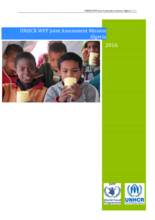 Algeria - UNHCR/WFP Joint Assessment Mission, April 2016