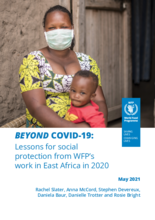 Beyond COVID-19: Lessons for social protection from WFP's work in East Africa in 2020_