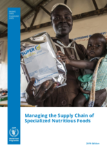 Managing the Supply Chain of Specialized Nutritious Foods