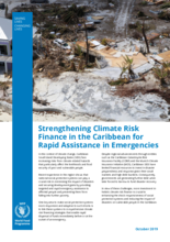 Strengthening Climate Risk Finance in the Caribbean for Rapid Assistance in Emergencies
