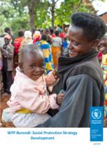 WFP Burundi Social Protection Strategy Development 2021