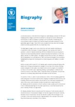 WFP Executive Director David Beasley - Biography - 2021