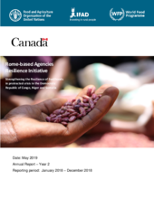 Rome-based Agencies - Canada Resilience Initiative - 2018 Annual Report